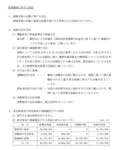 財務諸表に対する注記54期1